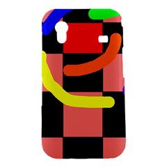 Multicolor abstraction Samsung Galaxy Ace S5830 Hardshell Case