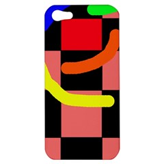 Multicolor abstraction Apple iPhone 5 Hardshell Case