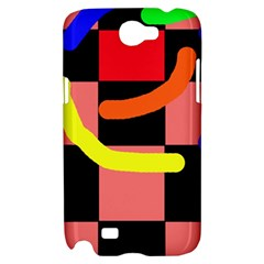 Multicolor abstraction Samsung Galaxy Note 2 Hardshell Case