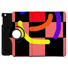 Multicolor abstraction Apple iPad Mini Flip 360 Case
