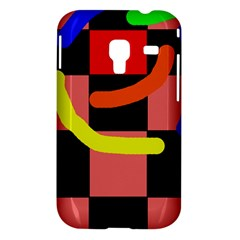 Multicolor abstraction Samsung Galaxy Ace Plus S7500 Hardshell Case