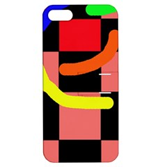Multicolor abstraction Apple iPhone 5 Hardshell Case with Stand