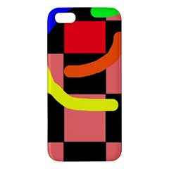 Multicolor abstraction Apple iPhone 5 Premium Hardshell Case