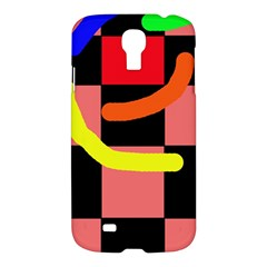 Multicolor abstraction Samsung Galaxy S4 I9500/I9505 Hardshell Case