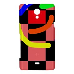 Multicolor abstraction Sony Xperia T