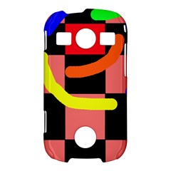 Multicolor abstraction Samsung Galaxy S7710 Xcover 2 Hardshell Case
