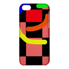 Multicolor abstraction Apple iPhone 5C Hardshell Case