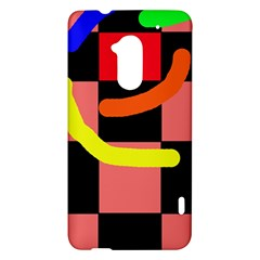 Multicolor abstraction HTC One Max (T6) Hardshell Case