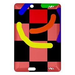 Multicolor abstraction Amazon Kindle Fire HD (2013) Hardshell Case