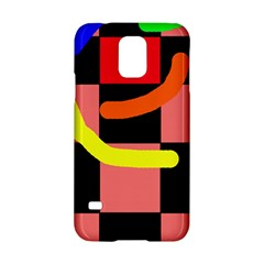 Multicolor abstraction Samsung Galaxy S5 Hardshell Case