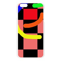 Multicolor abstraction Apple Seamless iPhone 6 Plus/6S Plus Case (Transparent)