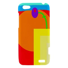 Colorful abstraction HTC One V Hardshell Case