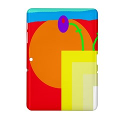 Colorful abstraction Samsung Galaxy Tab 2 (10.1 ) P5100 Hardshell Case