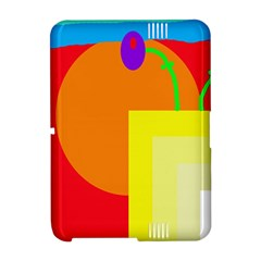 Colorful abstraction Amazon Kindle Fire (2012) Hardshell Case