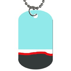 Simple decorative design Dog Tag (Two Sides)