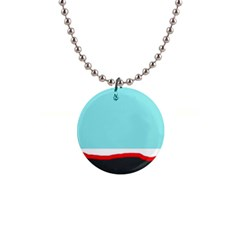 Simple decorative design Button Necklaces