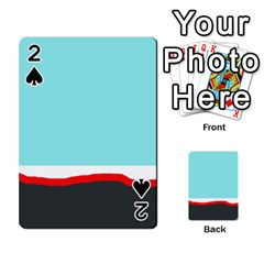 Simple decorative design Playing Cards 54 Designs