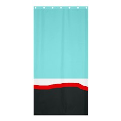 Simple decorative design Shower Curtain 36  x 72  (Stall)