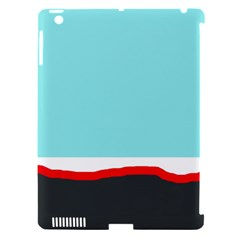 Simple decorative design Apple iPad 3/4 Hardshell Case (Compatible with Smart Cover)