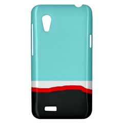 Simple decorative design HTC Desire VT (T328T) Hardshell Case