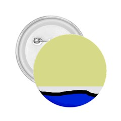 Yellow and blue simple design 2.25  Buttons