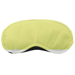 Yellow and blue simple design Sleeping Masks