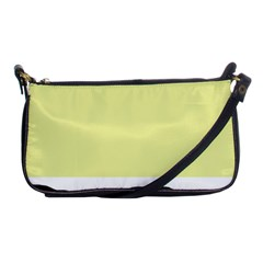 Yellow and blue simple design Shoulder Clutch Bags