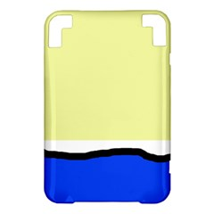 Yellow and blue simple design Kindle 3 Keyboard 3G