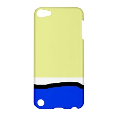 Yellow and blue simple design Apple iPod Touch 5 Hardshell Case