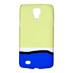 Yellow and blue simple design Galaxy S4 Active