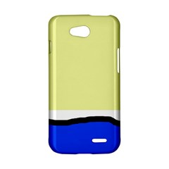 Yellow and blue simple design LG L90 D410