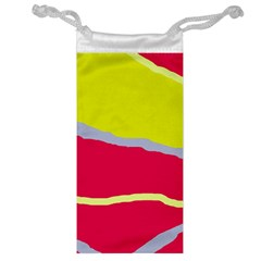 Red and yellow design Jewelry Bags