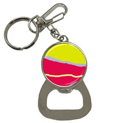 Red and yellow design Bottle Opener Key Chains