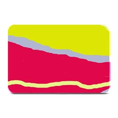 Red and yellow design Plate Mats