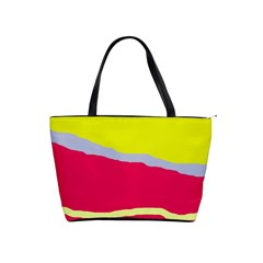 Red and yellow design Shoulder Handbags