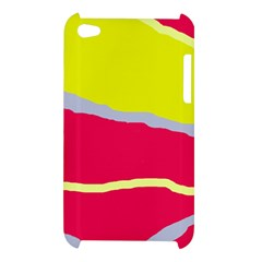 Red and yellow design Apple iPod Touch 4