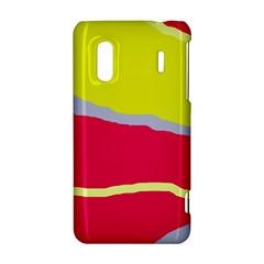 Red and yellow design HTC Evo Design 4G/ Hero S Hardshell Case