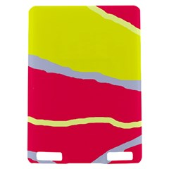 Red and yellow design Kindle Touch 3G