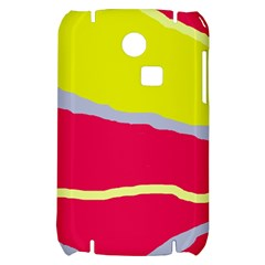 Red and yellow design Samsung S3350 Hardshell Case
