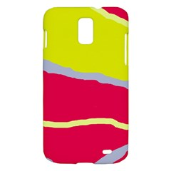 Red and yellow design Samsung Galaxy S II Skyrocket Hardshell Case