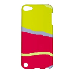 Red and yellow design Apple iPod Touch 5 Hardshell Case