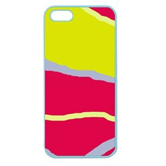 Red and yellow design Apple Seamless iPhone 5 Case (Color)