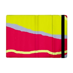Red and yellow design Apple iPad Mini Flip Case
