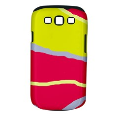 Red and yellow design Samsung Galaxy S III Classic Hardshell Case (PC+Silicone)