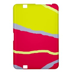 Red and yellow design Kindle Fire HD 8.9