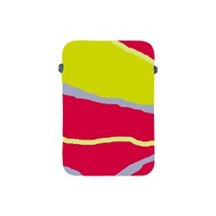 Red and yellow design Apple iPad Mini Protective Soft Cases