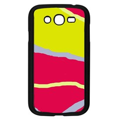 Red and yellow design Samsung Galaxy Grand DUOS I9082 Case (Black)
