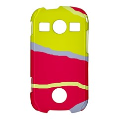 Red and yellow design Samsung Galaxy S7710 Xcover 2 Hardshell Case