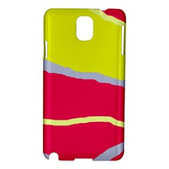 Red and yellow design Samsung Galaxy Note 3 N9005 Hardshell Case