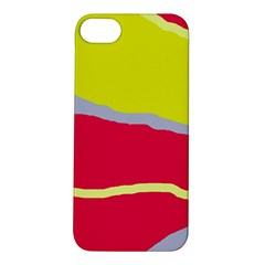 Red and yellow design Apple iPhone 5S/ SE Hardshell Case